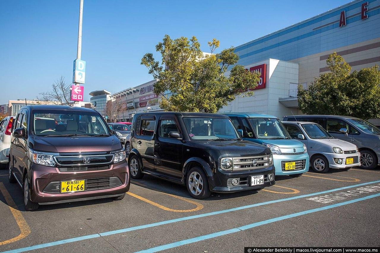 На каких машинах ездят Японцы? Типичное авто в Японии выглядит как холодильник на колесах
