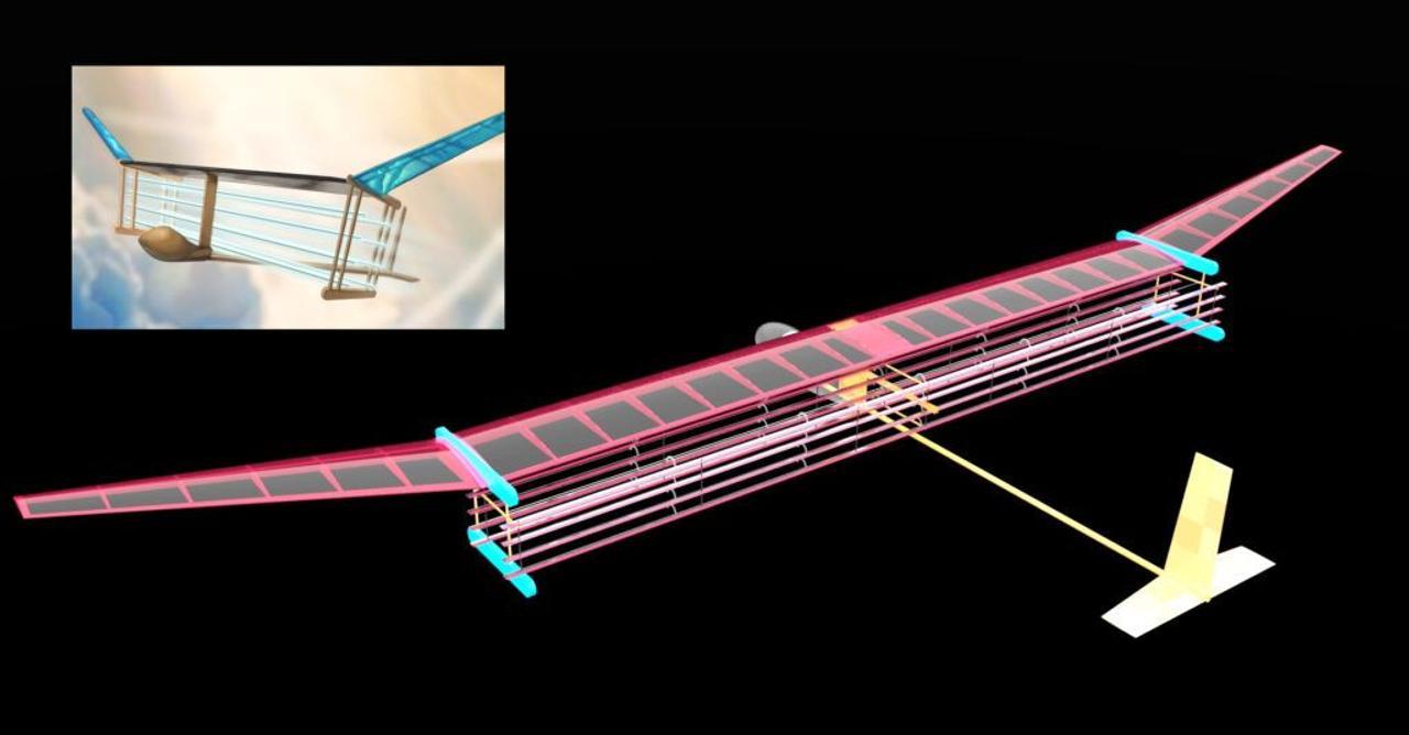Создан прототип бесшумного самолета, он летает с использованием ионных двигателей