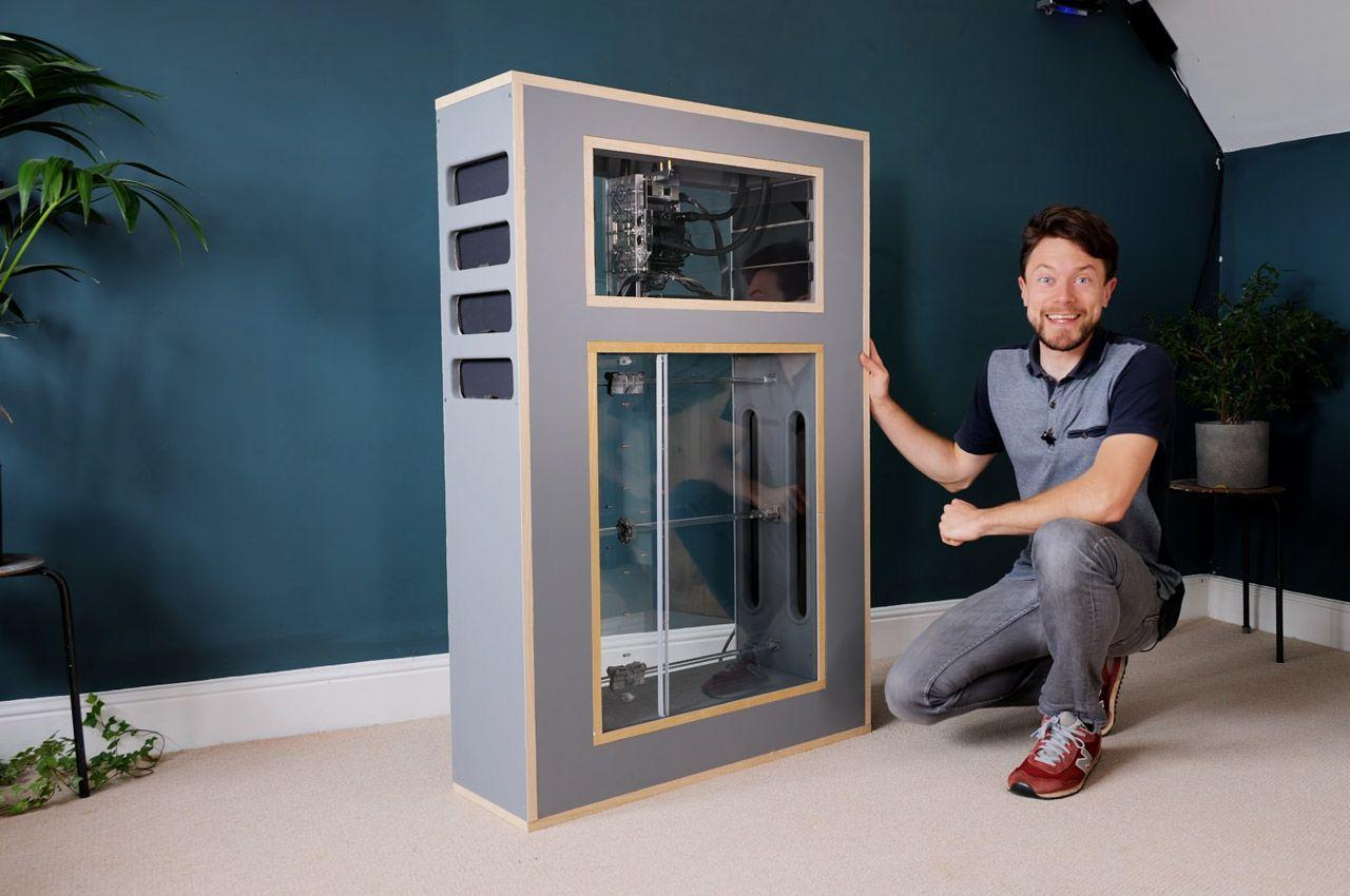 Дизайнер Мэтт Перкс создал первый в мире «дышащий» компьютер