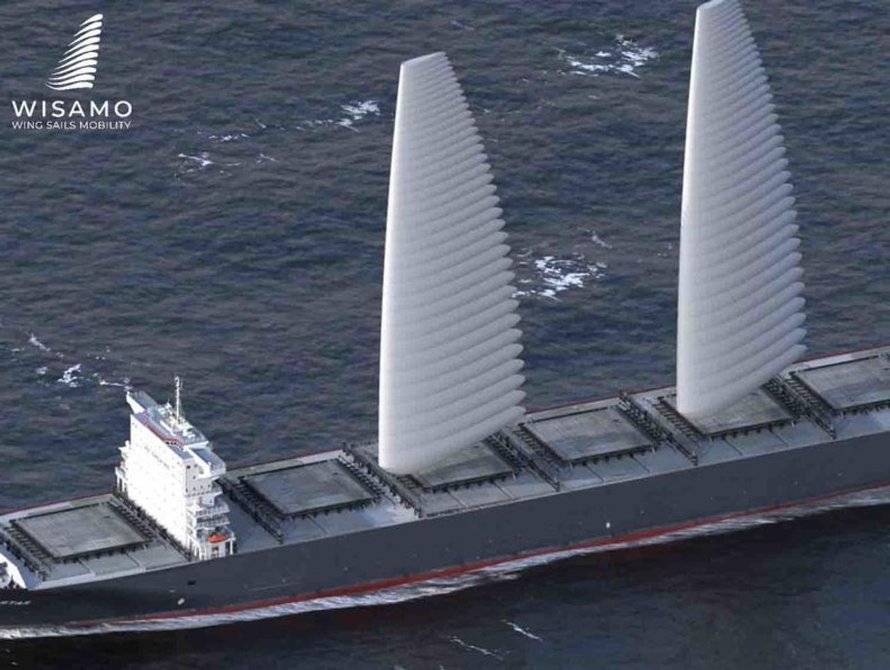 Надувные паруса Michelin помогут грузовым судам сократить расход топлива и выбросы
