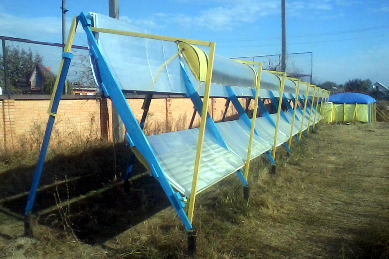 Изобретатель из Миргорода рассказал как построить тепловую солнечную станцию  и отказаться от газа