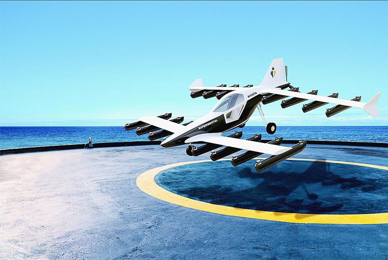 Японский стартап представил персональный электрический eVTOL Mk-5 с дальностью полета 160 км
