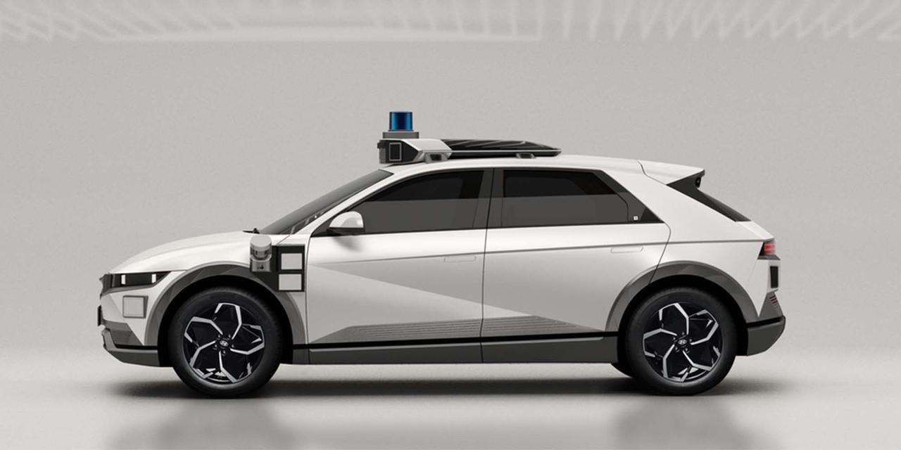 Hyundai и Motional представили грядущее роботакси нового поколения на базе Ioniq 5 EV