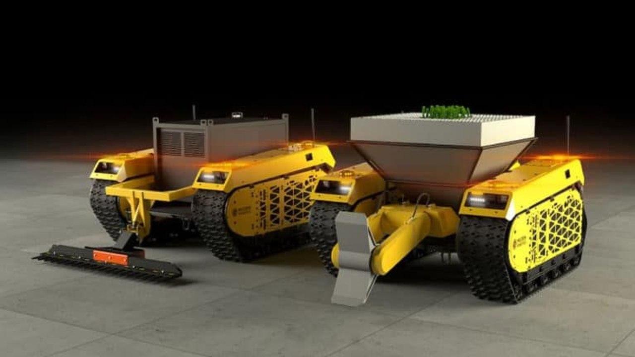 Автономные роботы-лесники могут сажать 1000 - чи деревьев в день