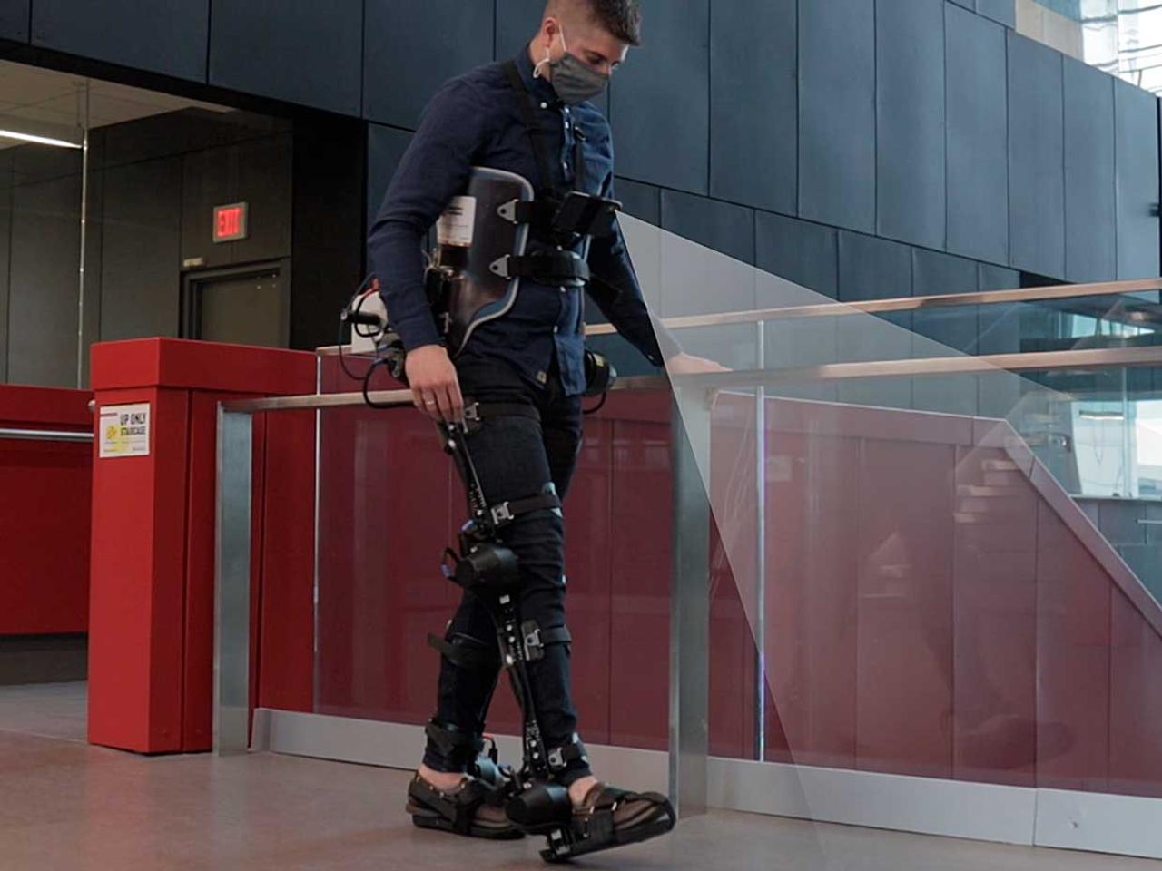 Роботизированные экзоскелеты будут передвигаться самостоятельно, автономно
