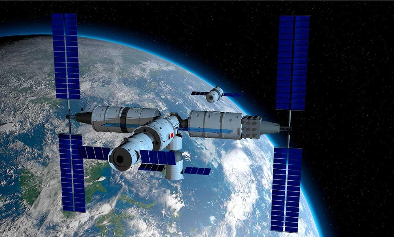 Китай разместит в космосе свою первую космическую станцию