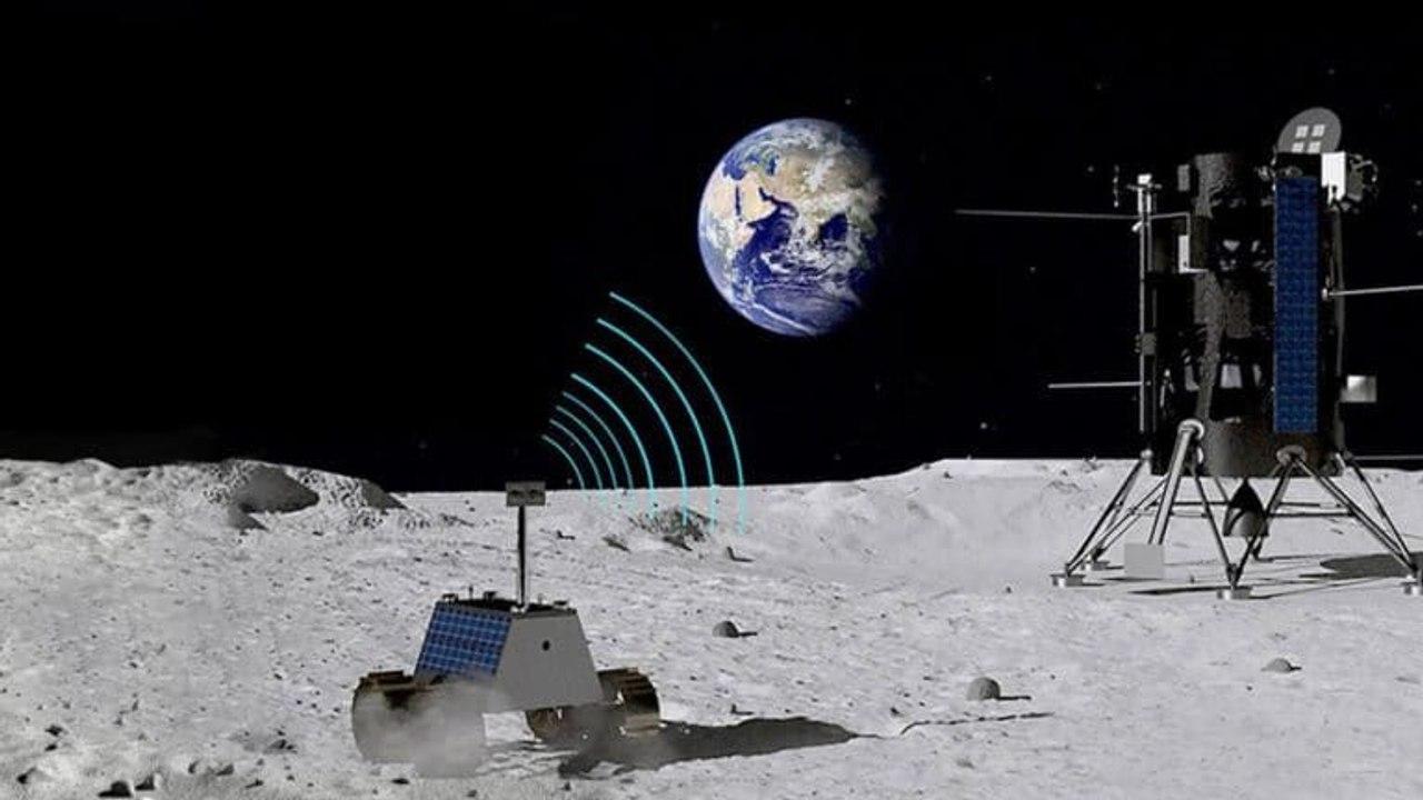 Nokia построит первую в истории сотовую сеть на Луне