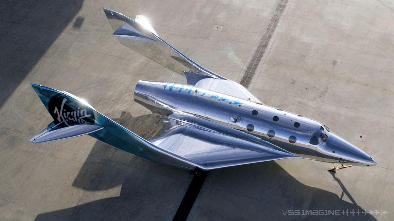 Virgin Galactic представил свой первый космический корабль SpaceShip III