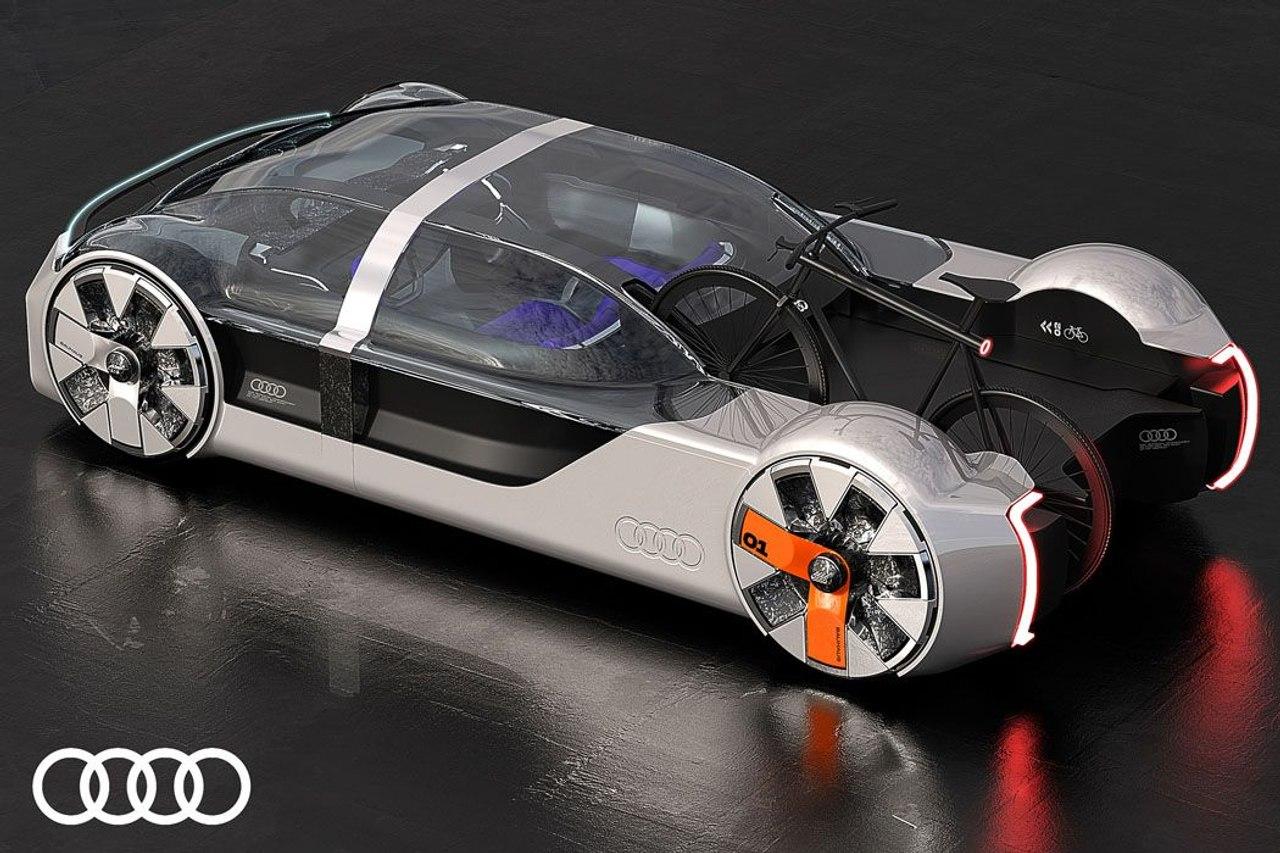 Концепт Audi Neo-Bauhaus - автомобиль нового поколения с различными системами мобильности