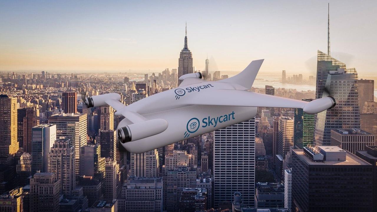 Skycart создает первый в мире беспилотный летательный аппарат для четырех пассажиров