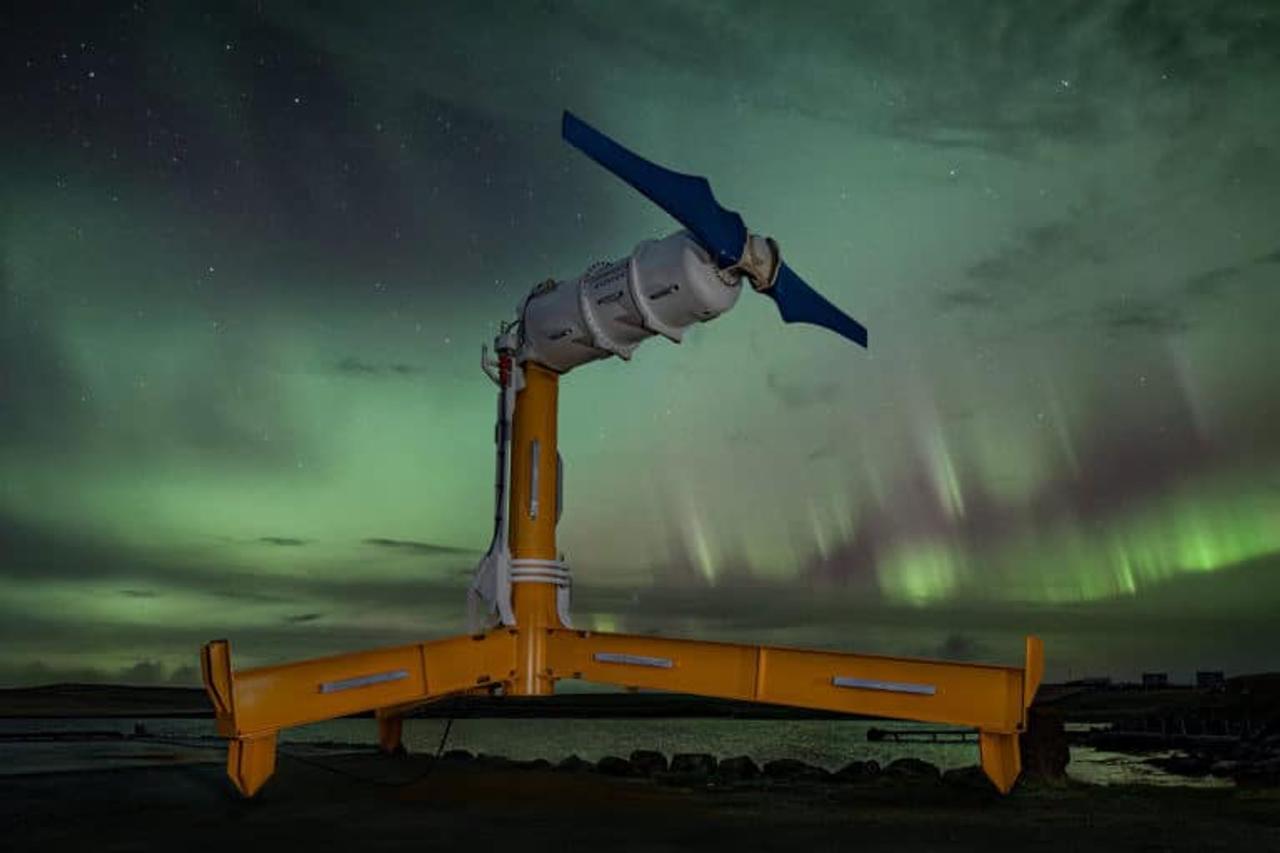 Nova Innovation увеличивает производство приливных турбин Nova VOLT для поставки турбин по всему миру