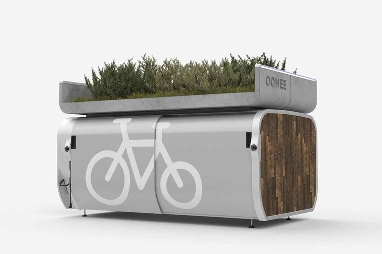 Умная парковка - капсула для велосипедов убережет от краж и преобразит городской пейзаж