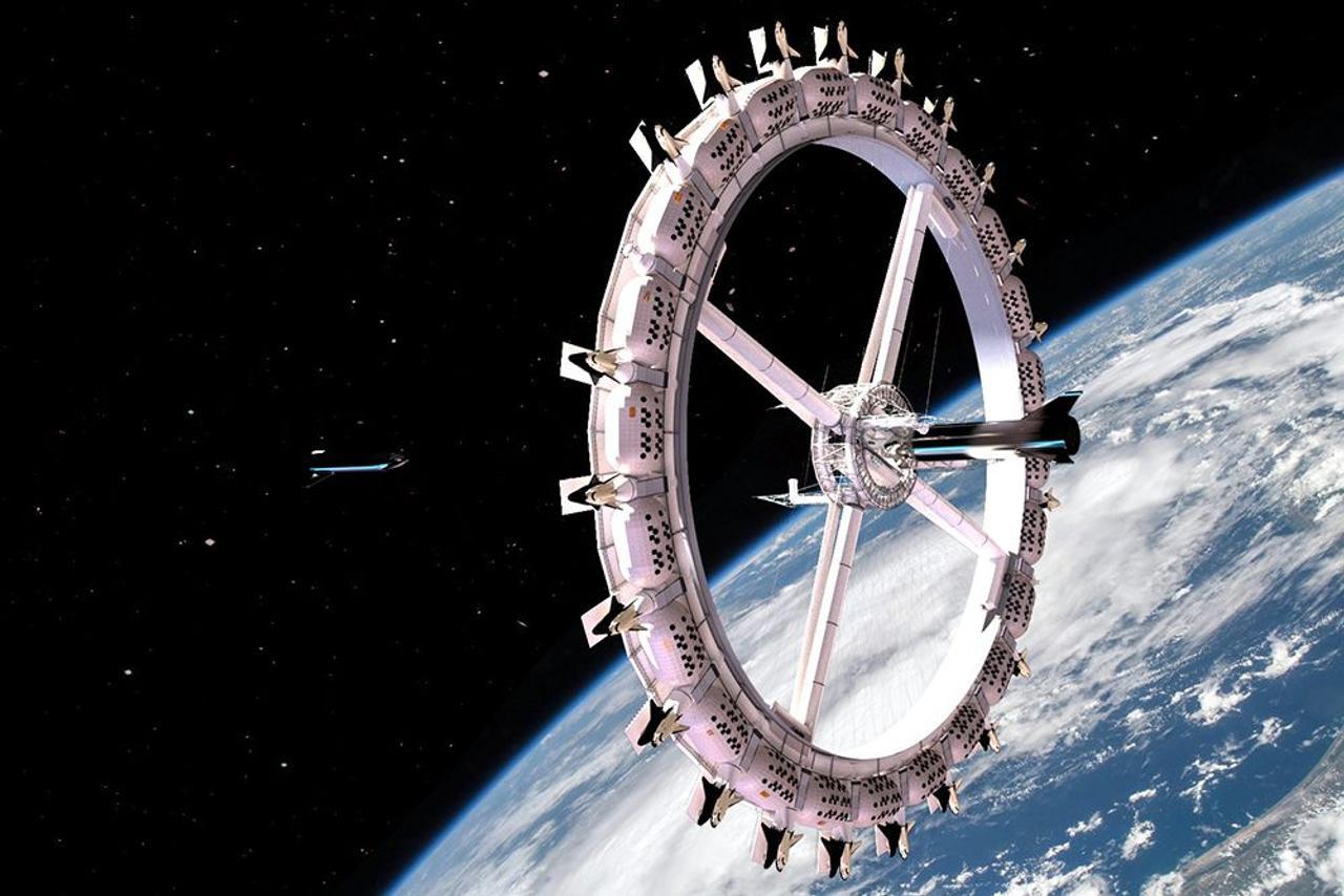Компания Orbital Assembly Corporation планирует построить первый в мире космический отель на орбите Земли