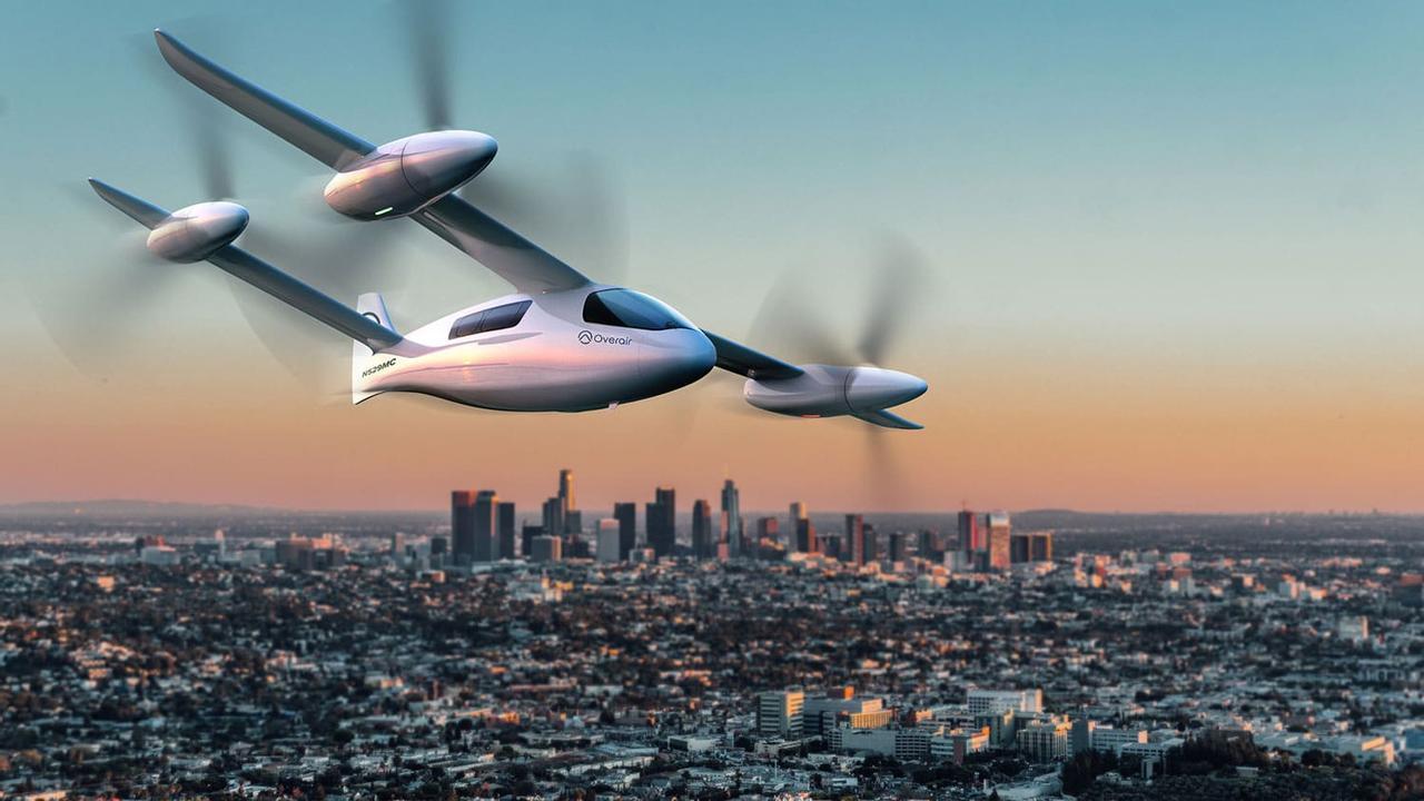 Overair представил электрический, малошумный самолет Butterfly eVTOL в стиле милитари