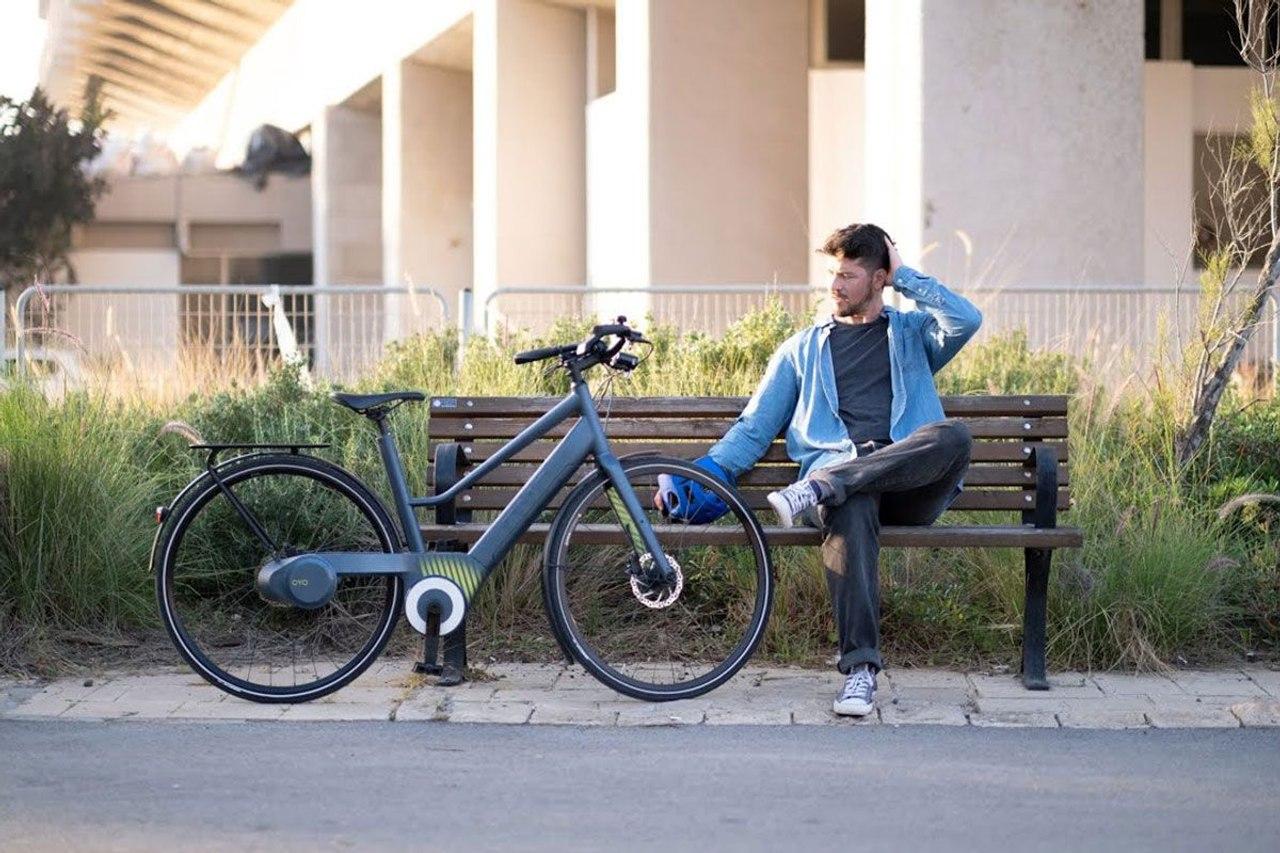 Oyo Bike - электровелосипед без цепи с гидравлическим приводом
