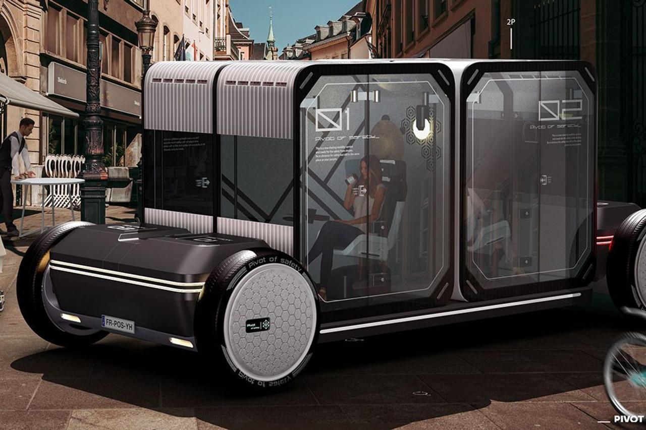 Автомобиль - капсула с функцией самоочистки убережет пассажиров от опасных вирусов