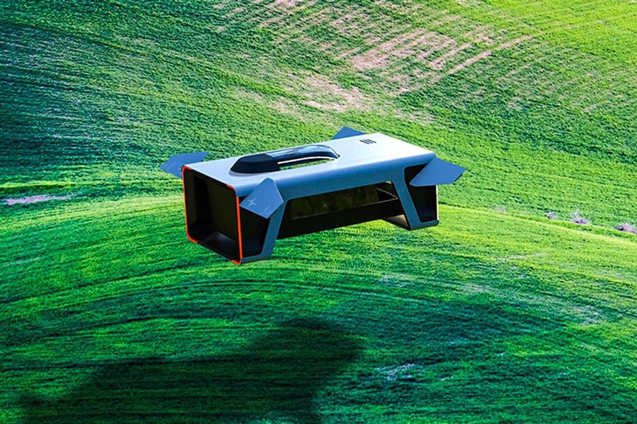 Концепция летающего жилого дома Polestar Air.V