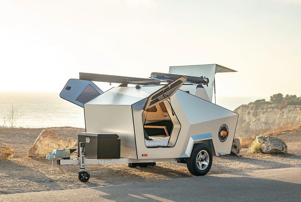 Polydrop создал прицеп - кемпинг для электромобилей и автономного проживания до 6 дней