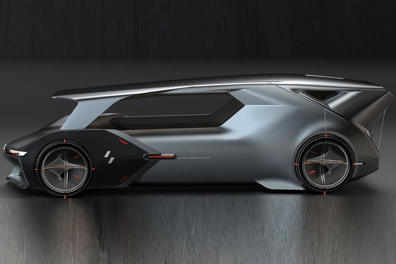 Renault Pantheon - применил в дизайне автомобиля, архитектурный дизайн, переосмыслив отдых в дороге