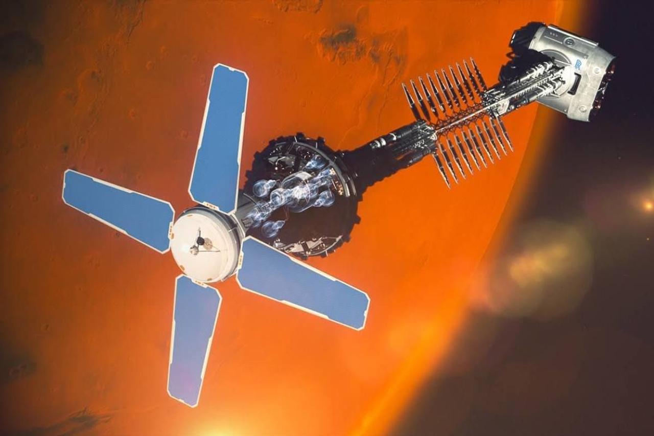 Rolls-Royce совместно с Великобританией разрабатывают ядерный ракетный двигатель для межпланетных космических путешествий
