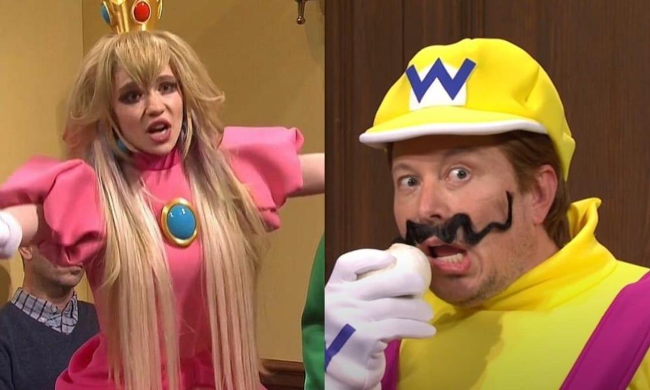 Илон Маск на телешоу Saturday Night Live - пародия на Super Mario, скетч про марсианина Чада и шутки о Dogecoin