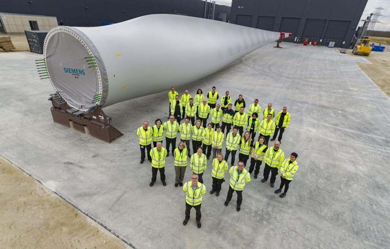 Siemens Gamesa разработала первую в мире лопасть ветряной турбины, пригодную для вторичной переработки