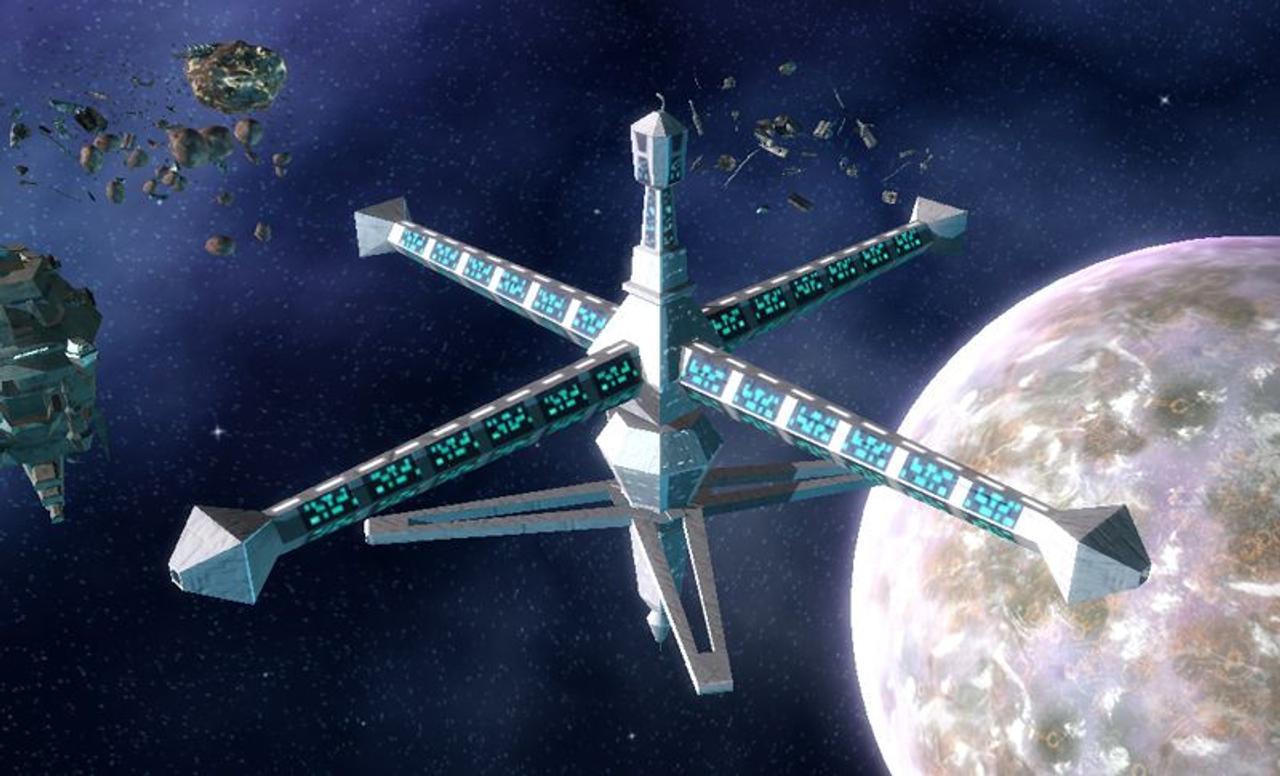 Небесный крюк Skyhook дешевле доставит строительные материалы в Космос, чем стандартная ракета