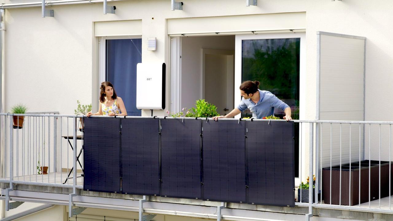SolMate - солнечные батареи для городских квартир, их можно установить на балконе или террасе