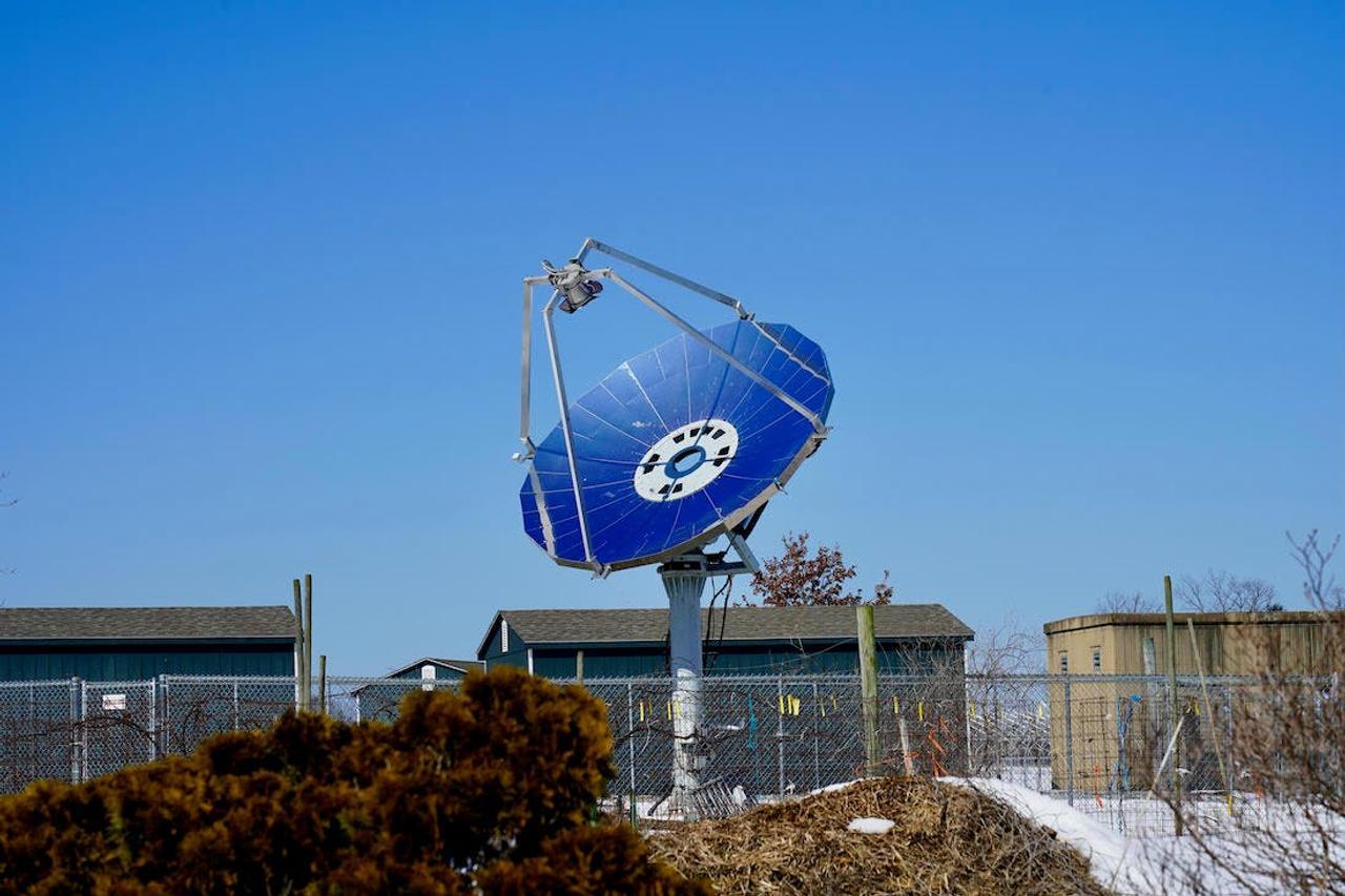 Новый гелиоконцентратор Focus превращает солнечный свет в тепло с эффективностью 72%