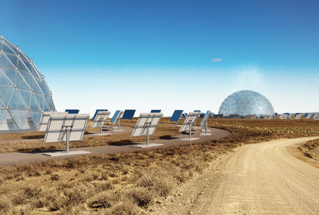 Солнечные купола будут опреснять морскую воду в Саудовской Аравии, в промышленных масштабах