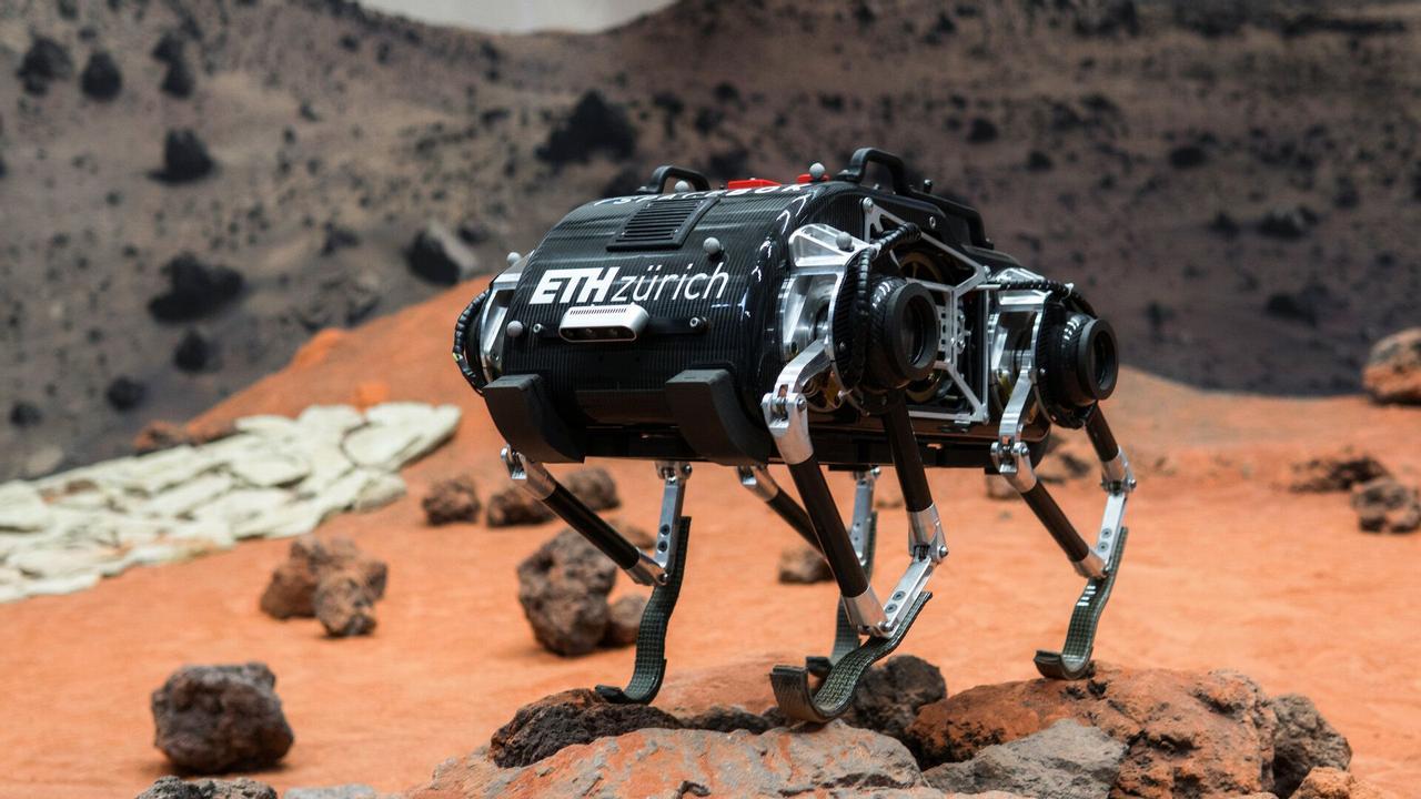 SpaceBok - первый четырехногий робот создан для покорения Марса
