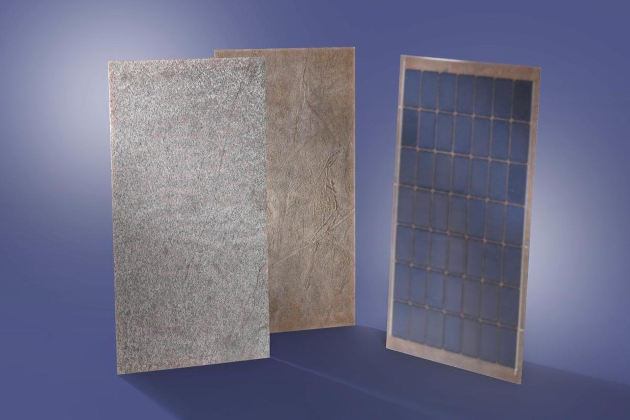 Немецкие инженеры разработали фасадные солнечные модули с облицовкой камнем