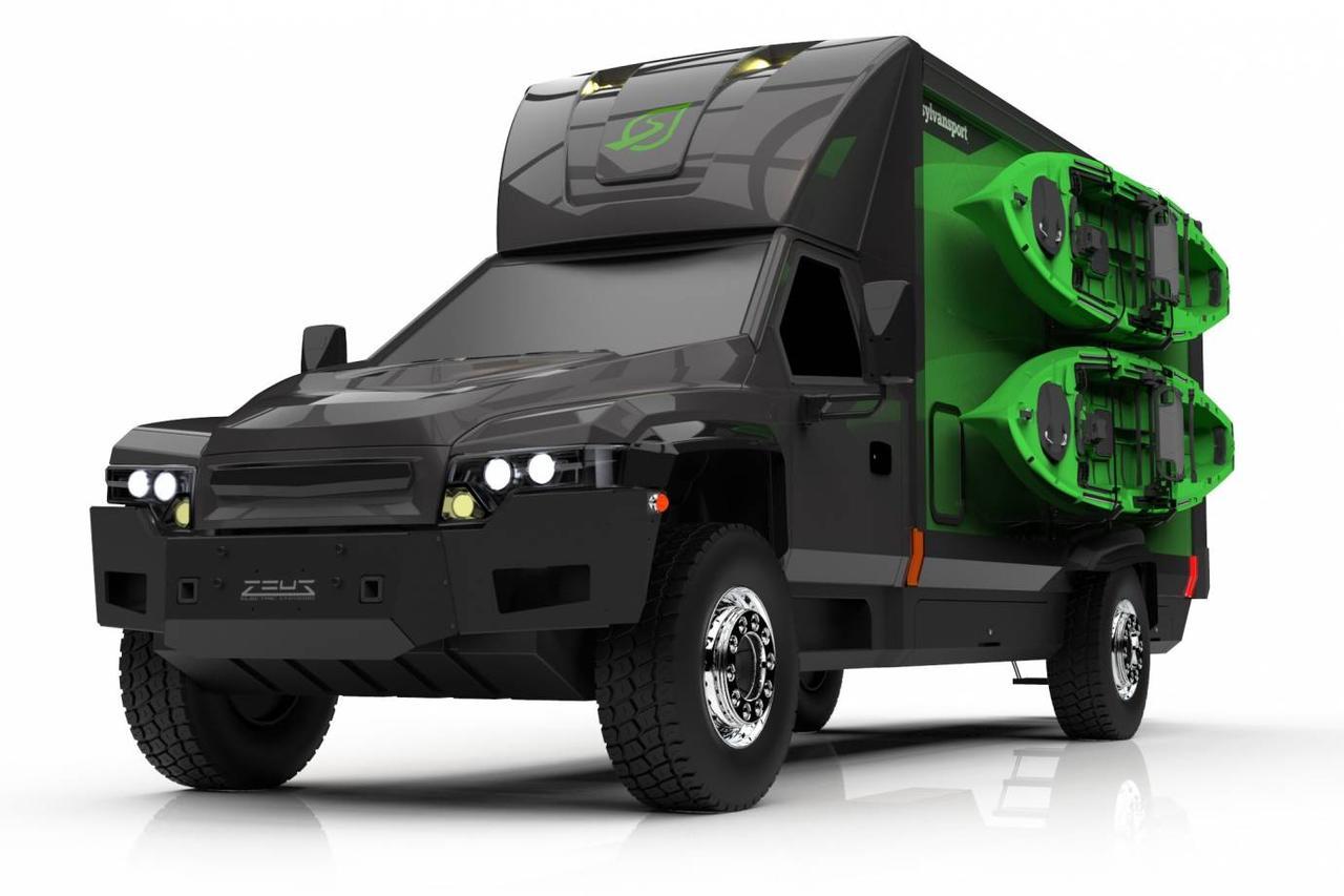 SylvanSport и Zeus объединились для создания полностью электрического внедорожника дома на колесах