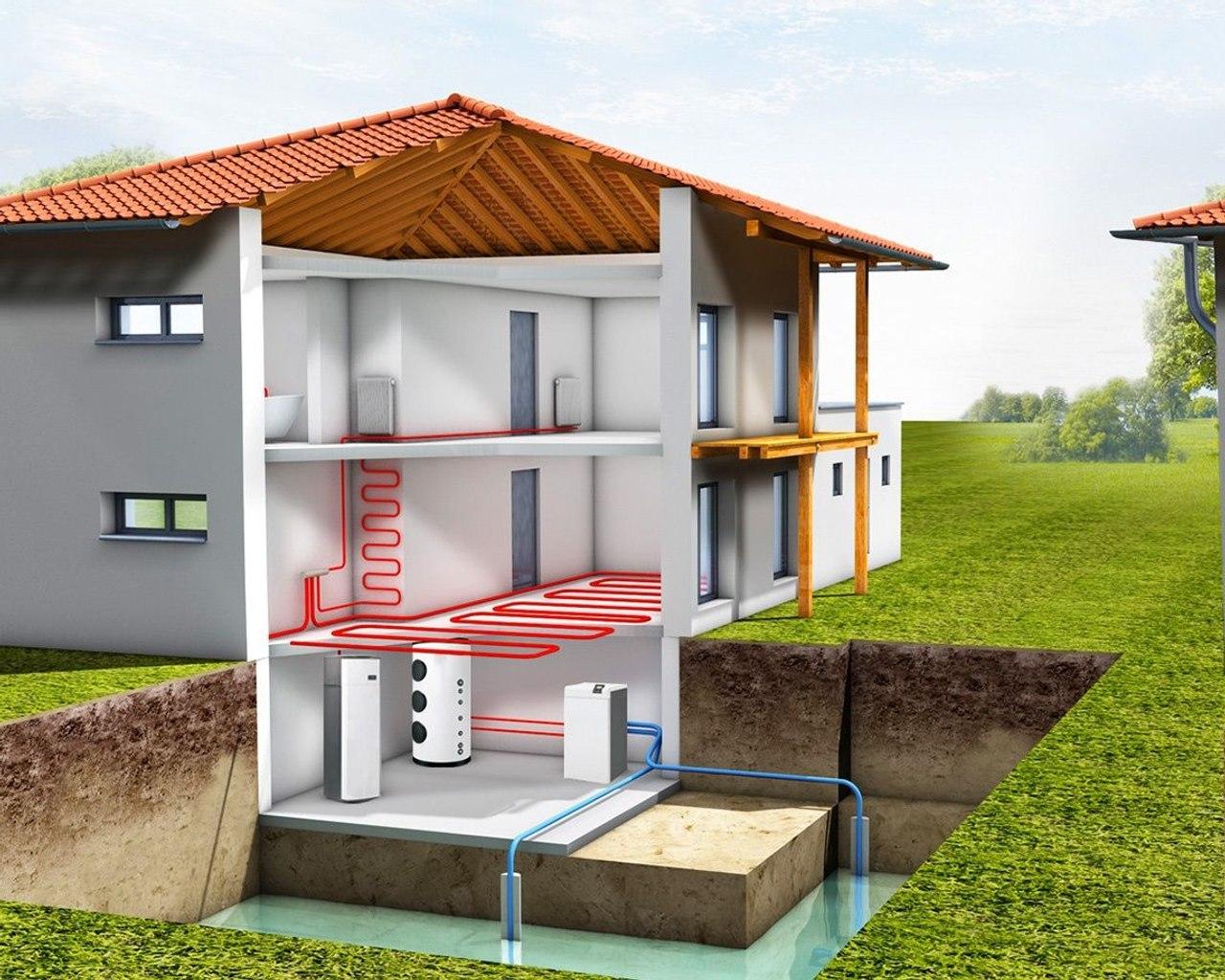 Как не зависеть от газа - тепловые насосы для отопления и горячего водоснабжения дома