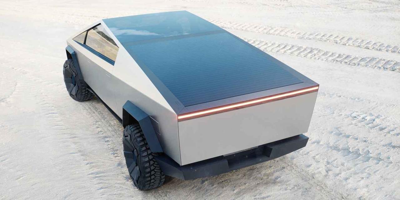 Выдвижная солнечная крыша Tesla Cybertruck увеличит запас хода электромобиля на 30 км