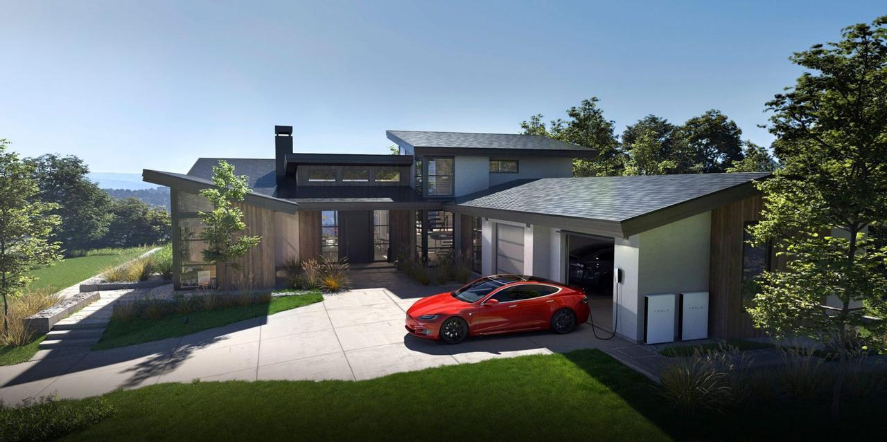 Tesla будет продавать свои солнечные продукты только в комплекте: солнечная крыша и Powerwall