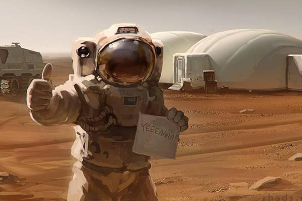 NASA ищет добровольцев для проживания на Марсе - симуляции миссии на Красной планете