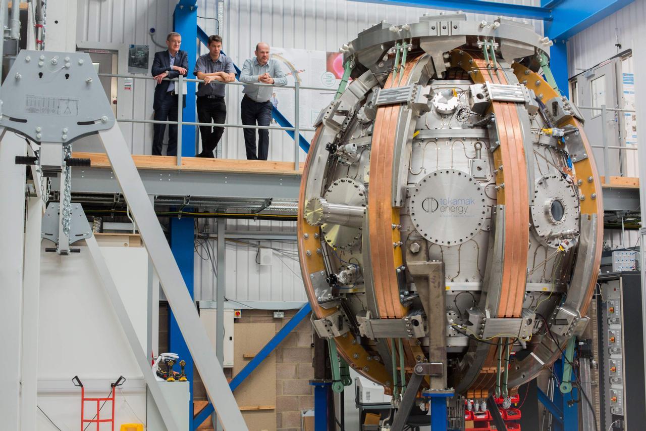Британская компания Tokamak Energy увеличит температуру плазмы до 100 миллионов градусов