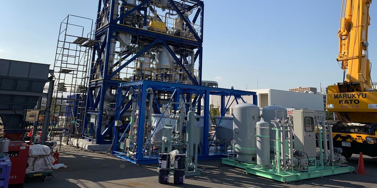 Токийский завод перерабатывает сточные воды и отходы в чистый водород
