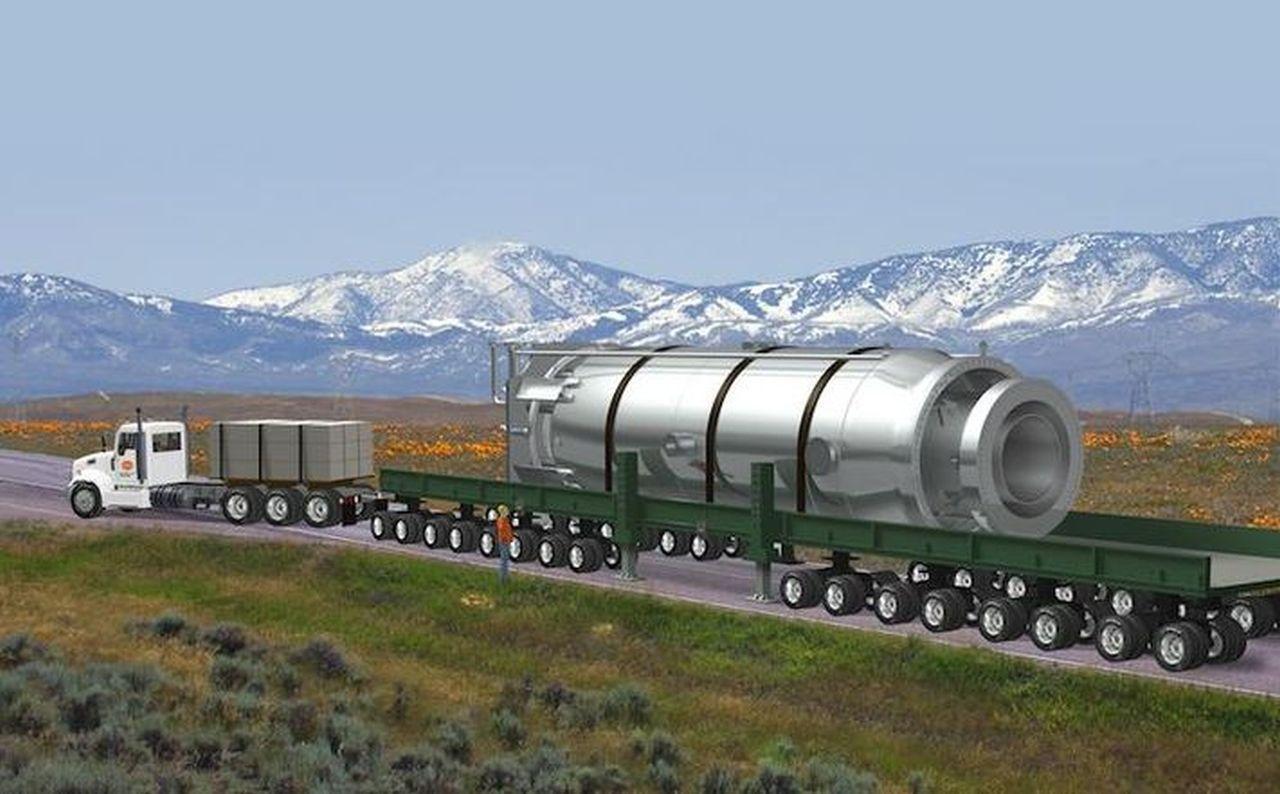 Министерство обороны США реализуют проект «Project Pele», создание мобильного ядерного микрореактора