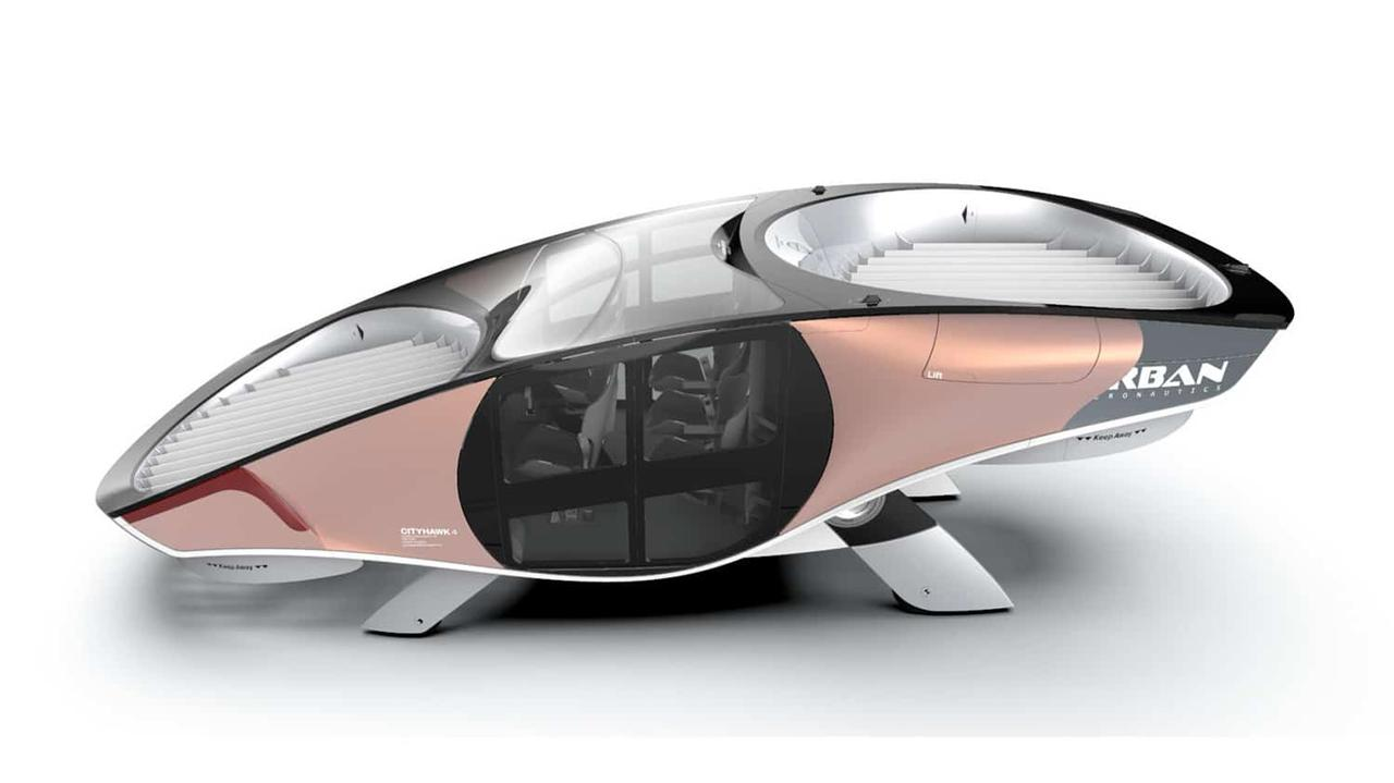 Бескрылое аэротакси eVTOL с полностью закрытой роторной системой будет работать на водородном топливе