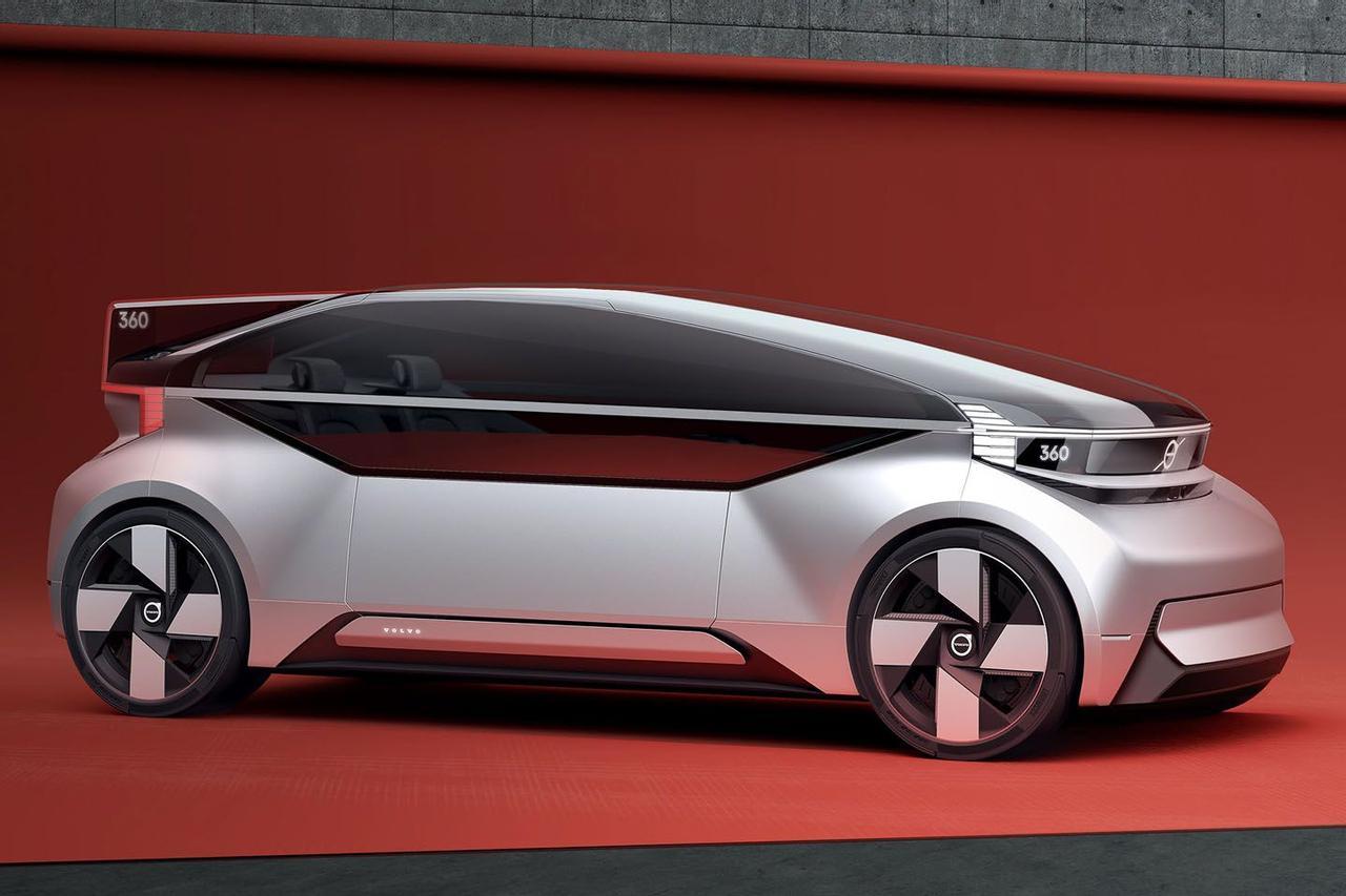 Футуристический дизайн Volvo 360c - воплощение сверхбезопасной автономии управления пятого уровня