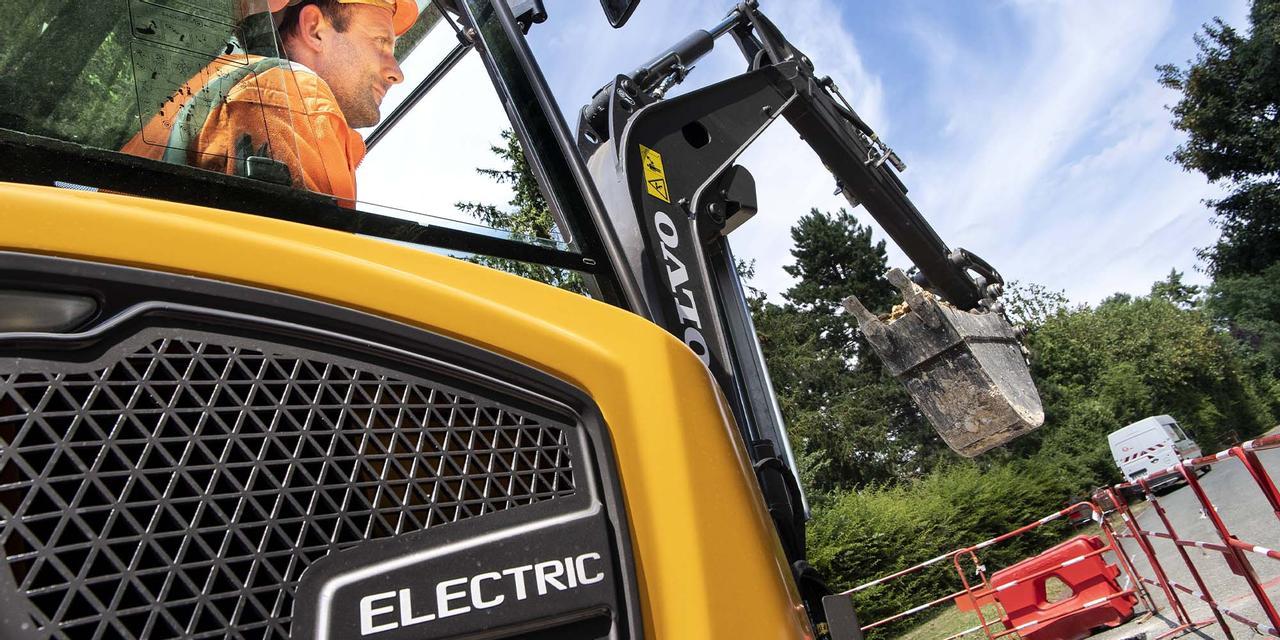 Volvo продемонстрировала свою строительную электрическую технику в преддверии выпуска на рынок