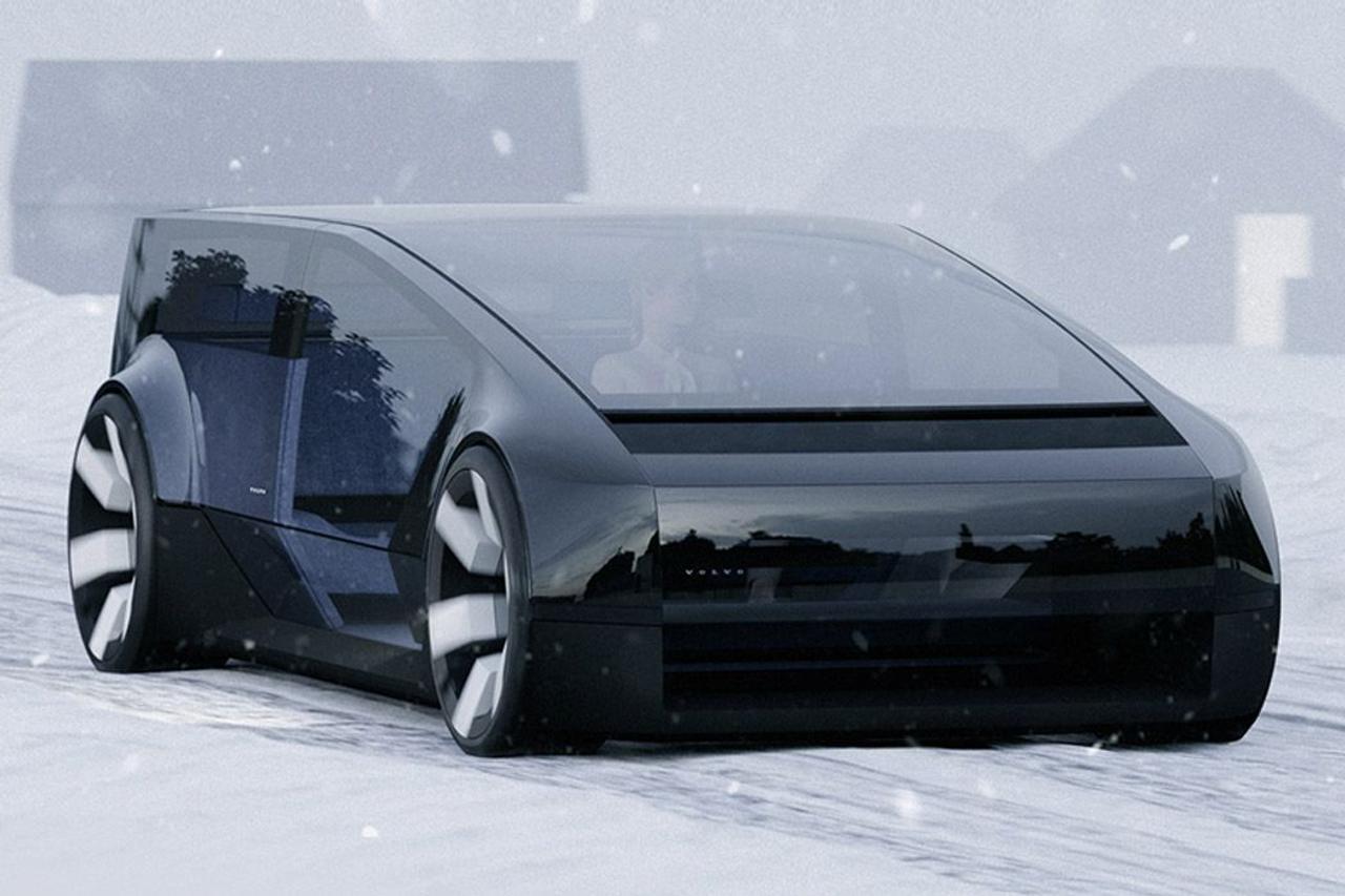 Volvo создал рошкошный дизайн электромобиля для автономных путешествий