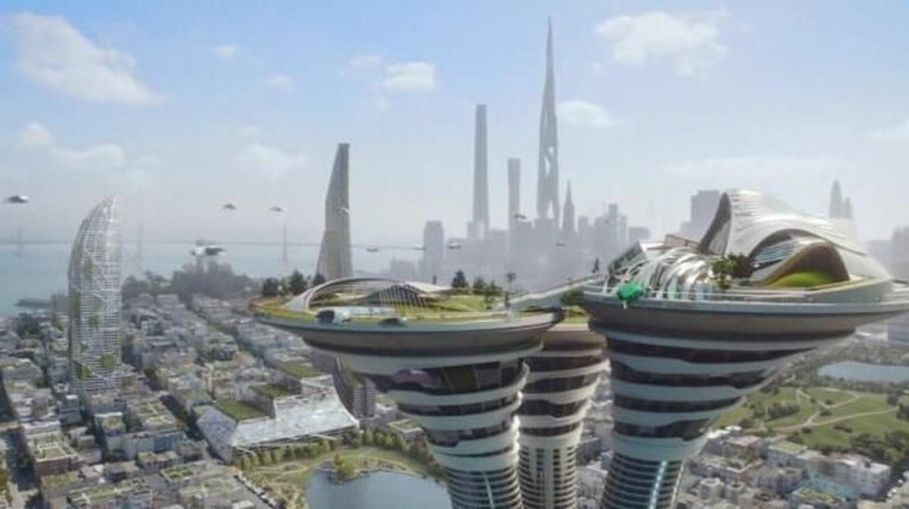 Компания ARCONIC создала концепт эко - небоскреба высотой более 5 км