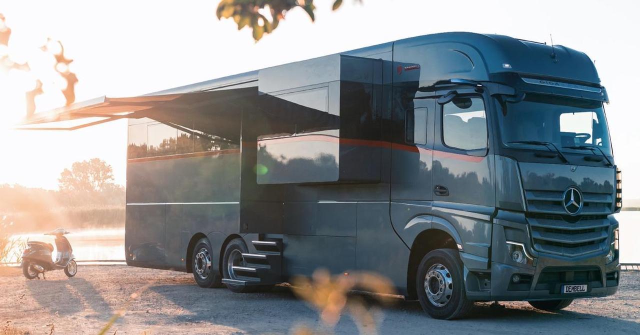 Dembell создал самый роскошный дом на колесах, на базе Mercedes