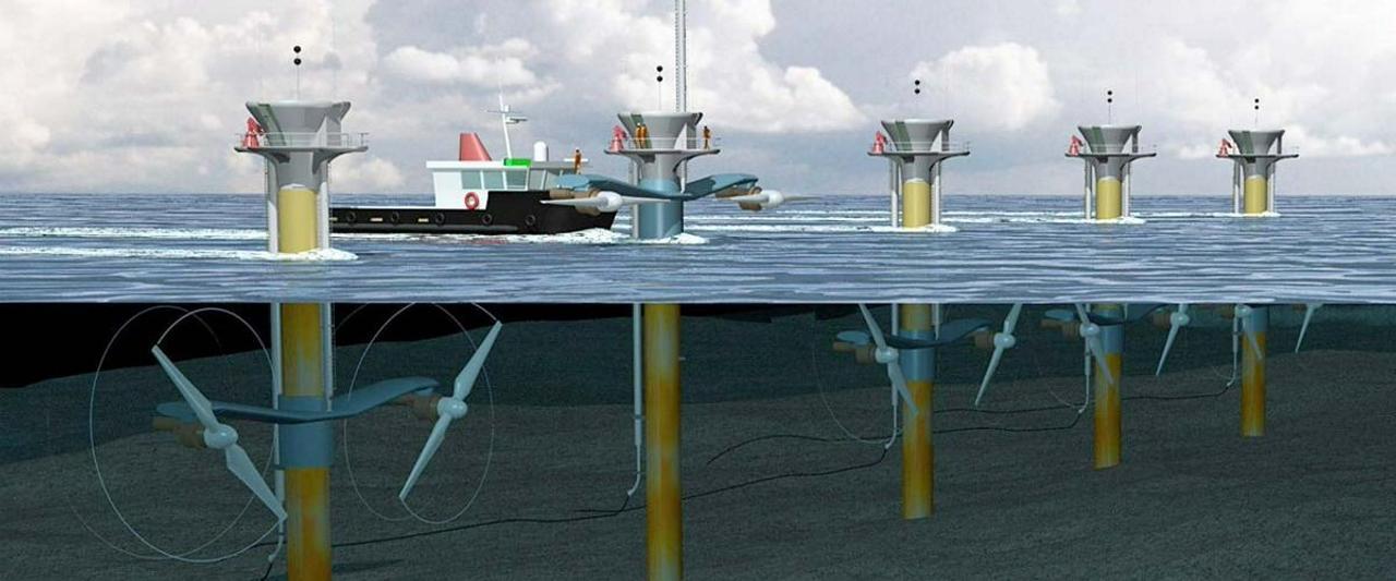 Энергия из океанских волн более эффективна, чем энергия ветра или солнца