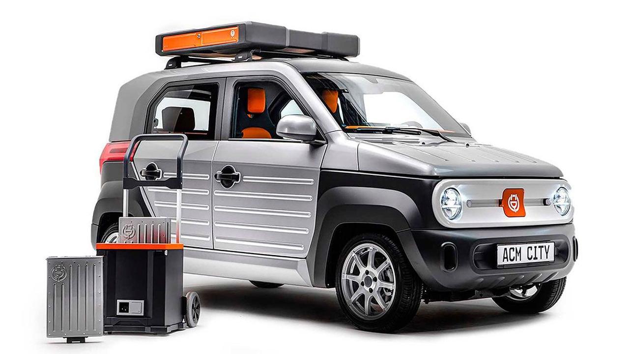 Компания ACM представила компактный городской электромобиль с батареей на крыше стоимостью 10 тыс. евро
