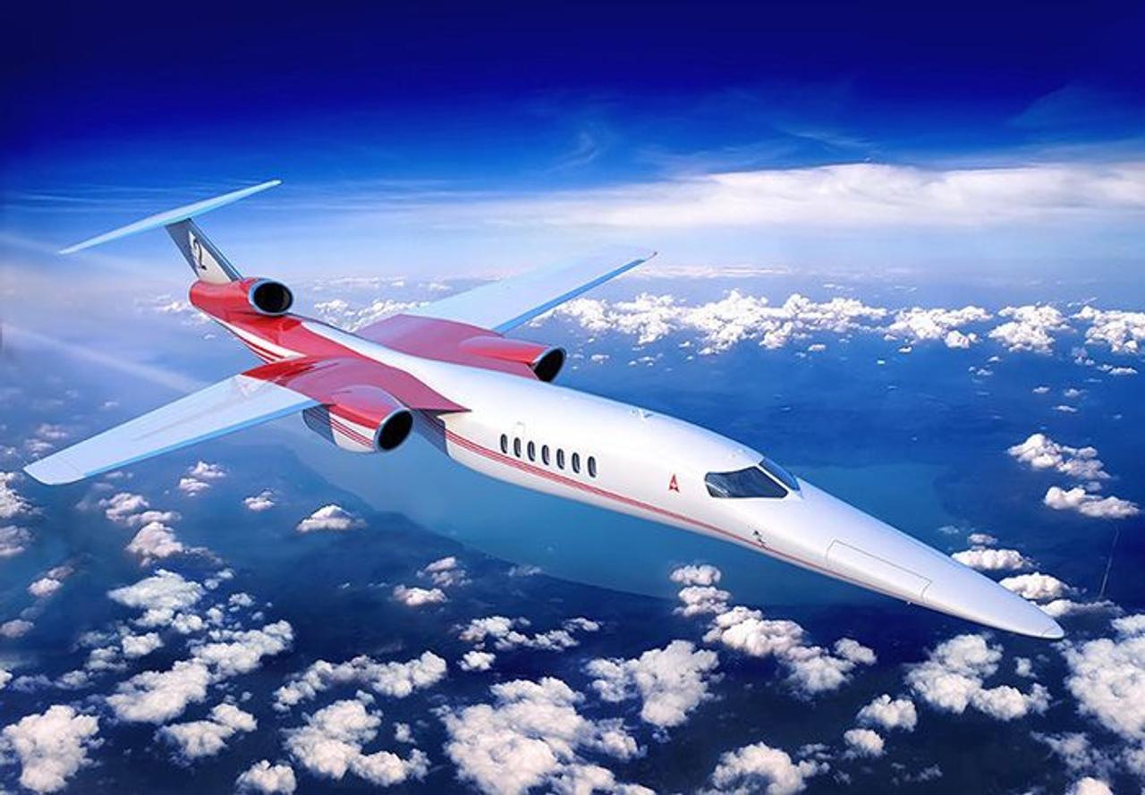 Aerion создает сверхзвуковой авиалайнер Mach 4+, способным развивать скорость более 4800 км / ч и дальностью действия 12 964 км