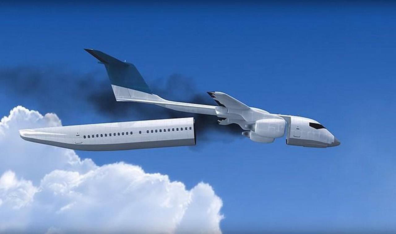 Авиаконструктор Владимир Татаренко разработал уникальный самолет со съемной капсулой для спасения пассажиров